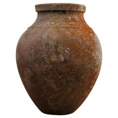19th Century Extra Large Spanish Terracotta Wine Barrel