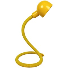 Yellow Desk Lamp, Italy, 1970s