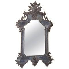 Italian Carved Rococo Mirror