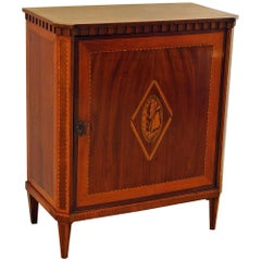 Antique Dutch mahogany Side Cabinet