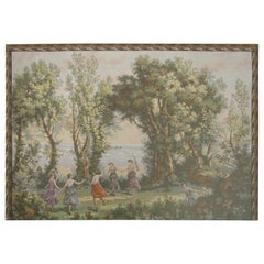 French Tapestry Aubusson Style, 1880
