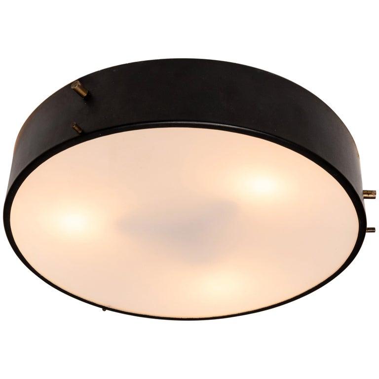 1959 Bruno Gatta Wall or Ceiling Lamp for Stilnovo