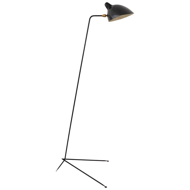 Vintage Floor Lamp by Serge Mouille, France, 1950s