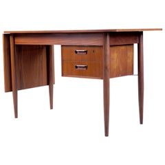 Gunnar Nielsen Tibergaard, Sliding Table Desk, Denmark, 1960