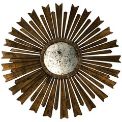 Sunburst Gilt Mirror