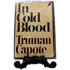 In Cold Blood by Truman Capote, First Edition, with Original Dust Jacket, 1965