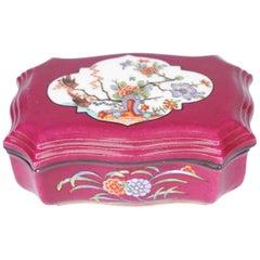 Pink Serveware, Ceramics, Silver and Glass