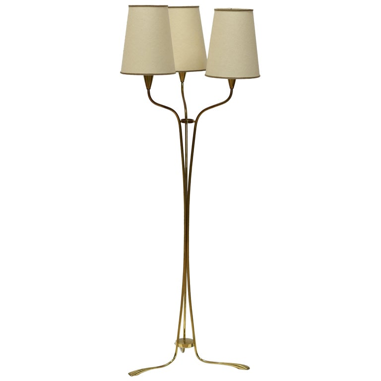 3-Light Floor Lamp by Stilnovo