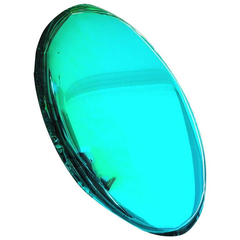 Mirror 'Tafla O4', Stainless Steel by Zieta Prozessdesign, Gradient Collection