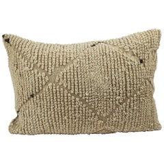 Moroccan Pillow Beni Ourain Pillow from Morocco Berber Cushion