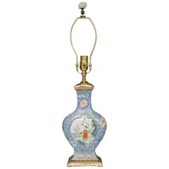 Chinese Export Vase as Table Lamp