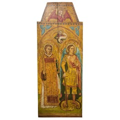 Religious Icon Painted on Board