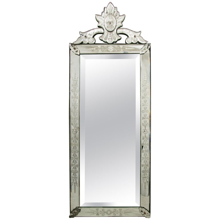 Early 20th Century Venetian Mirror For Sale