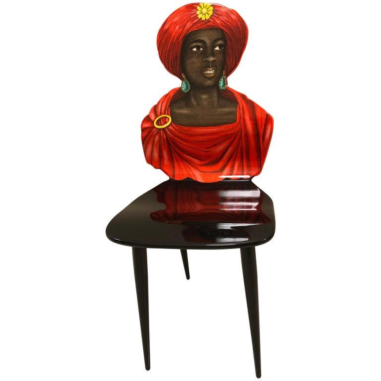"Fornasetti ""Moro"" Chair"