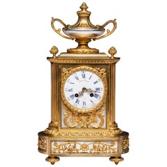 Antique French Mantel Clock by Victor Raingo Paris