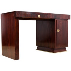 Art Deco Desk in Rosewood