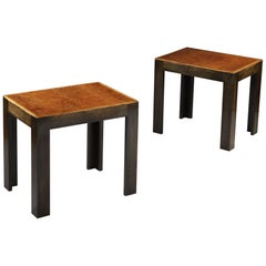 Pair of French Modernist Tables