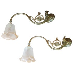 Pair of Victorian Lamps