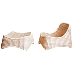 1950s Nanna Ditzel Design Lounge And Outdoor Seating Set