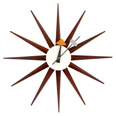 Howard Miller Clock by George Nelson for Fehlbaum Brothers, 1950s