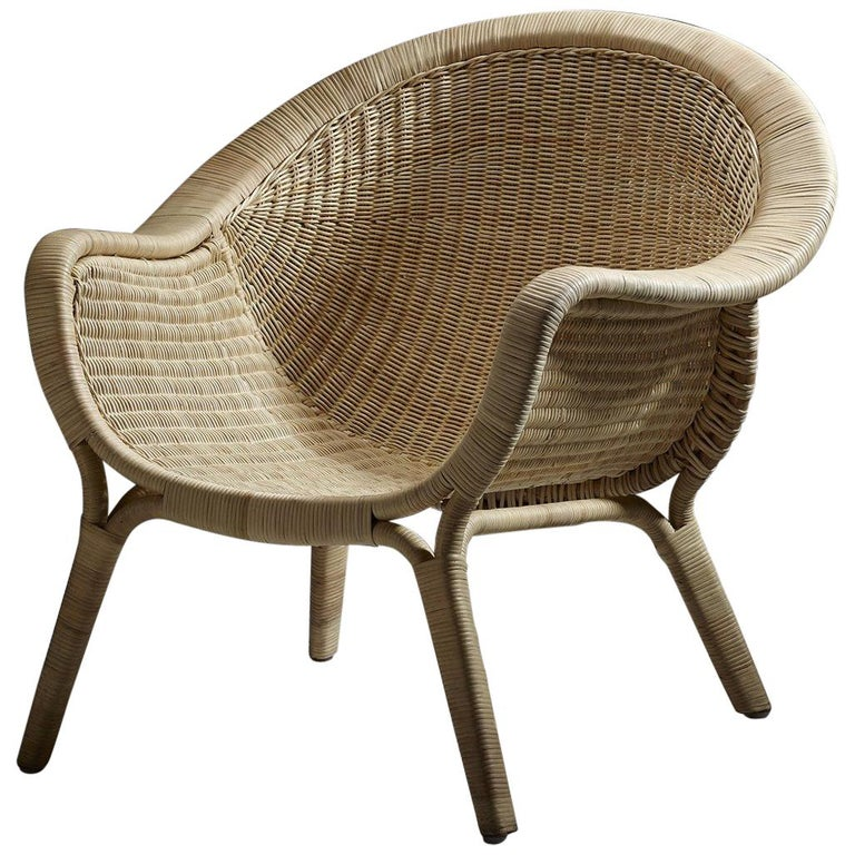 1950s Nanna Ditzel Design and Lounge Armchair