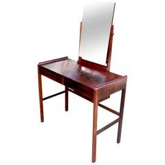 Dressing Table by Arne Vodder for N.C. Mobler veneered in Pau Ferro