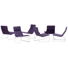 Jasper Morrison Low Pad Lounge Chairs