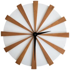 California Modern Clock by Garry Carthew for Peter Pepper, 1950s