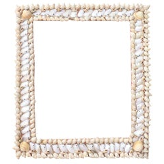 20th Century Italian Vintage Artistic Photo Frame with Shells
