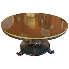 British Regency Tilt-Top Center Table