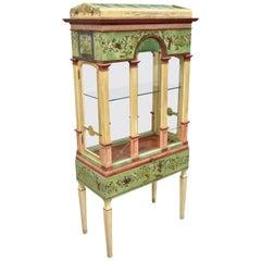 Italian Neoclassical Birdcage Style Vitrine Display Curio Cabinet, Eric Lansdown