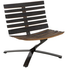 Bilge Lounge Chair by Uhuru Design, Reclaimed Materials