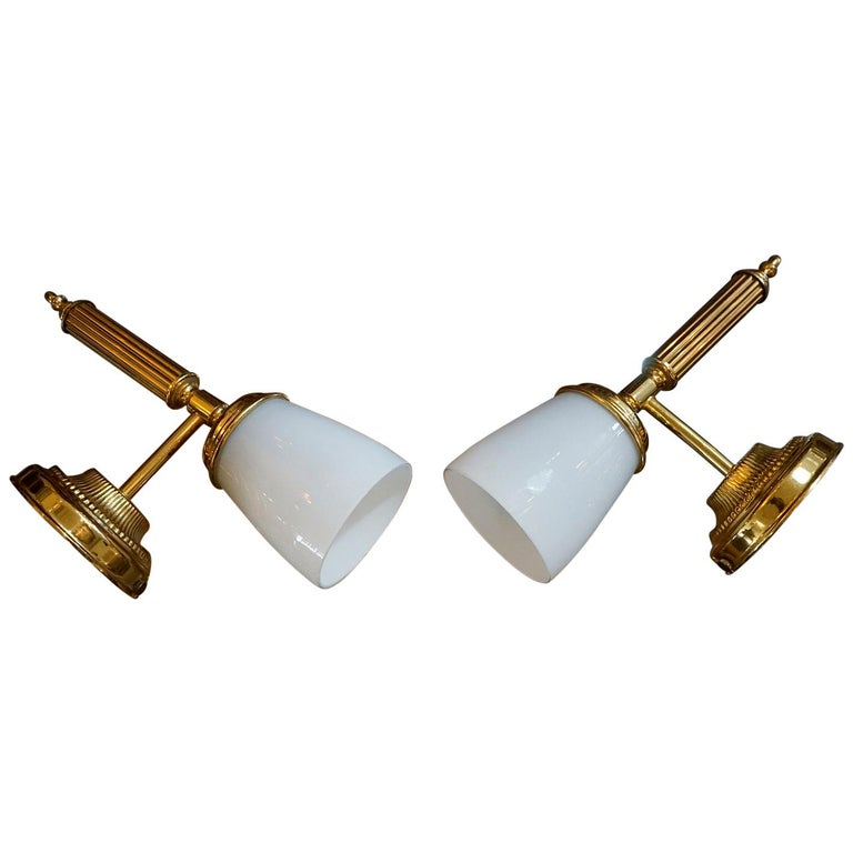Italian Pair of Wall Sconces For Sale