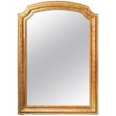 French Gilt Framed Louis Phillipe Mantle Mirror
