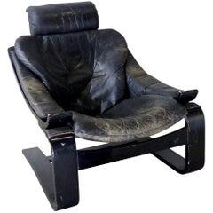 1970s Kroken Lounge Chair by Ake Fribytter for Nelo, Sweden