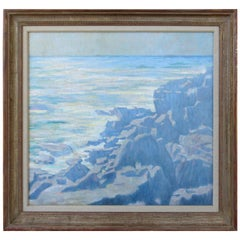 Seascape, a View from Montauk NY by Albert Delmont Smith, 1886-1962