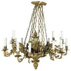 20th Century French Louis XV Style Chandelier