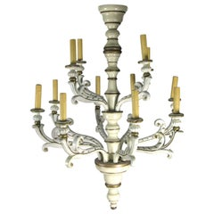 20th Century Italian Louis XIV Style Chandelier