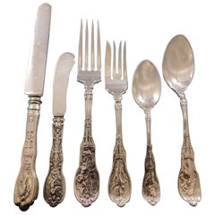Mythologique by Gorham Sterling Silver Flatware Set for 12 Service 76 pcs Dinner