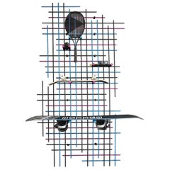 Wall-Unit, Super Sports Grid by Higashifushimi