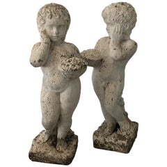 Set of French Putti
