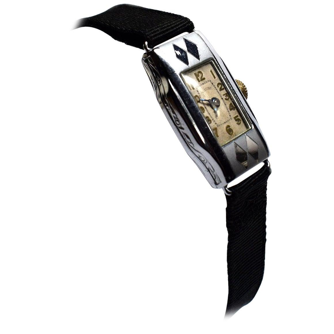 1930s Art Deco Ladies Wristwatch