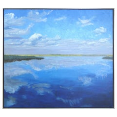 """""""Airboat, Everglades"""" Oil on Canvas by American Artist Carloyn Francis"""