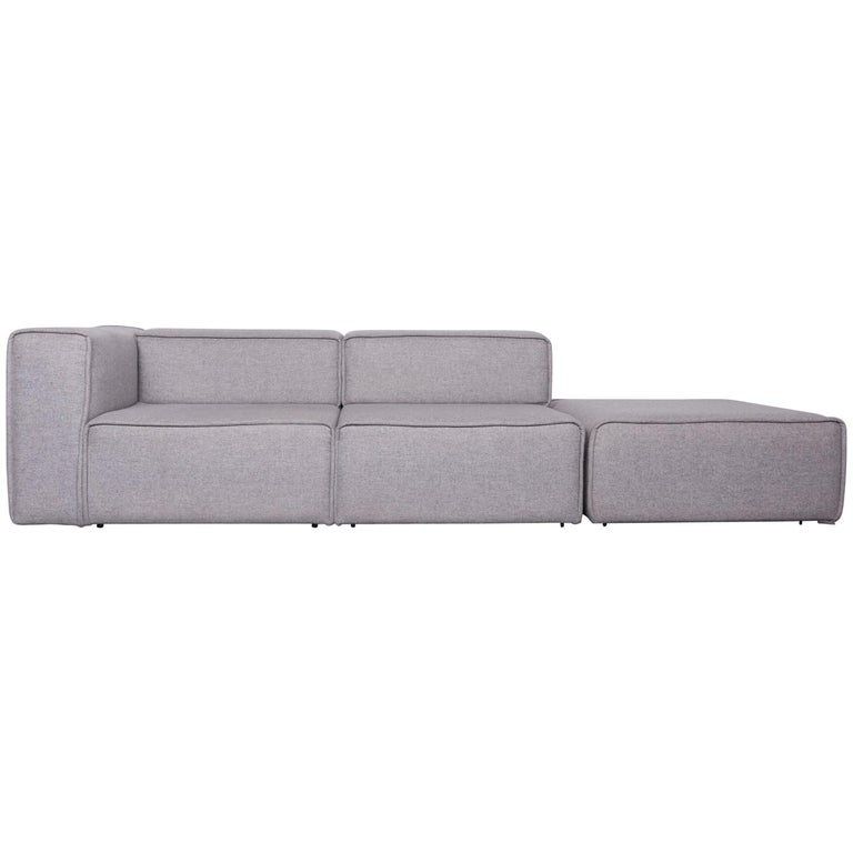 Boconcept Carmo Designer Sofa Grey Three Seat Couch For