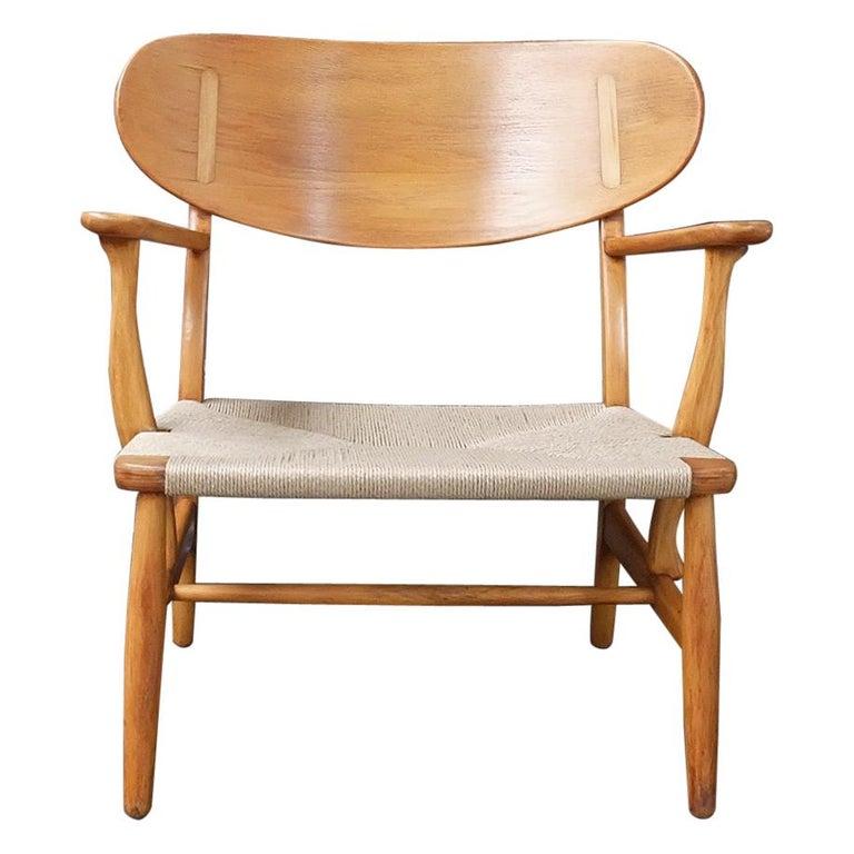 Hans J Wegner model CH22 Armchair for Carl Hansen and Son 1950 '2'