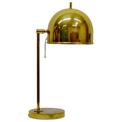 Brass Table Lamp B-075 by Bergboms