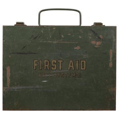 Early 20th c. Bell System C First Aid Kit, circa 1940s