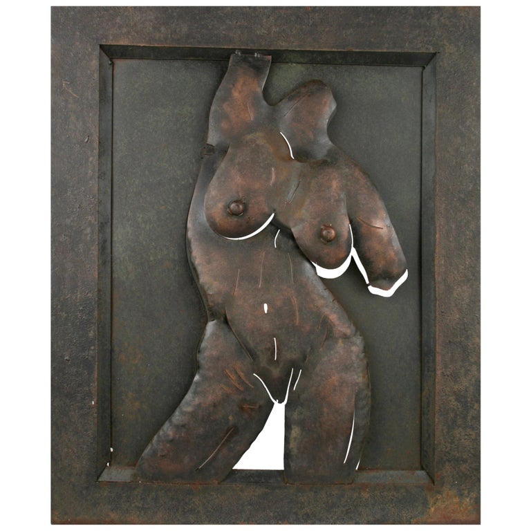 ON SALE Nude Wall Sculpture For Sale