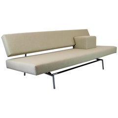 Dutch Design Sofa / Daybed BR02 by Martin Visser for Spectrum 1960s White Chrome