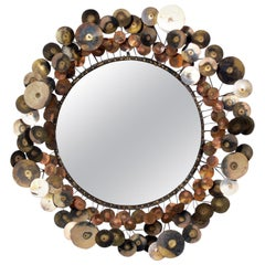 "Curtis Jere ""Raindrops"" Mirror"